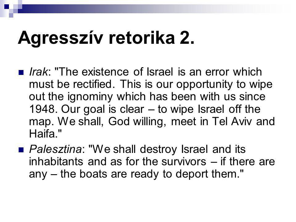 Agresszív retorika 2.