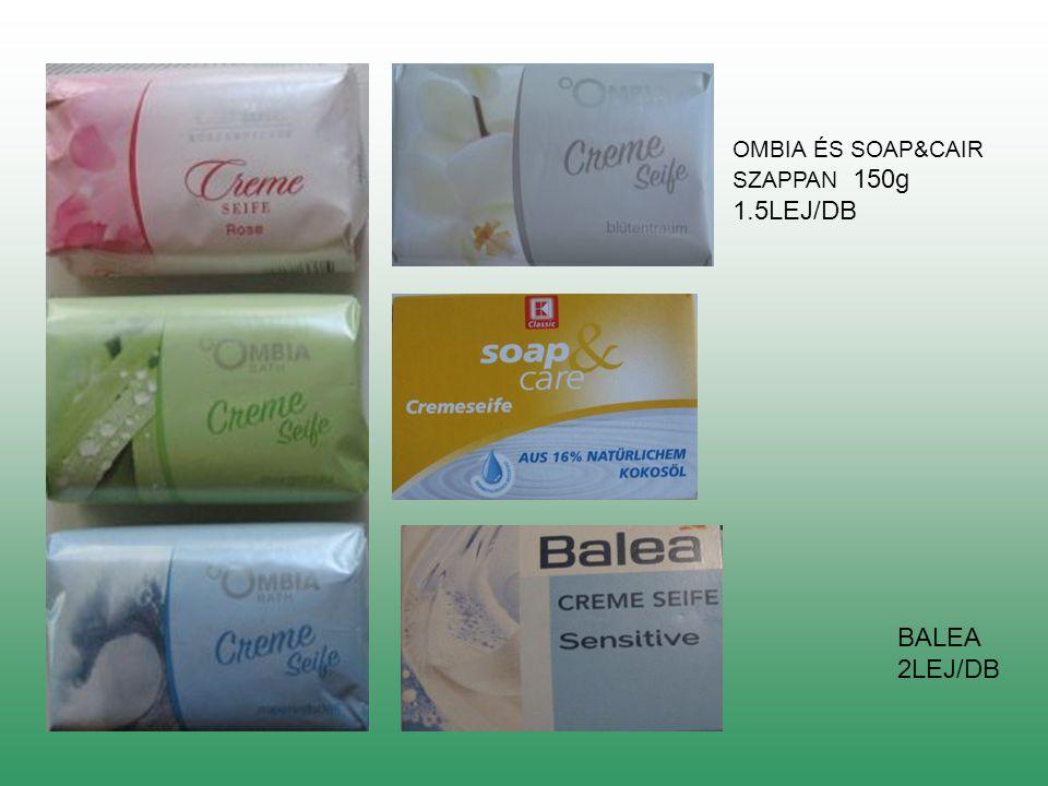 OMBIA ÉS SOAP&CAIR SZAPPAN 150g