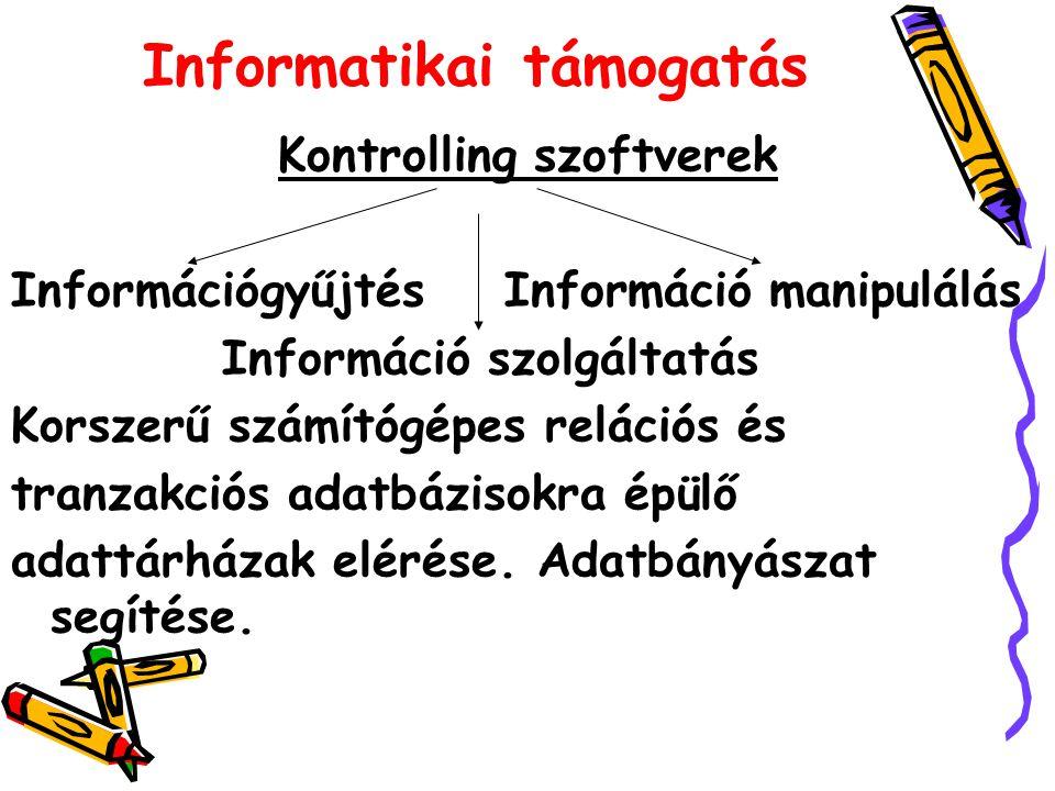 Informatikai támogatás