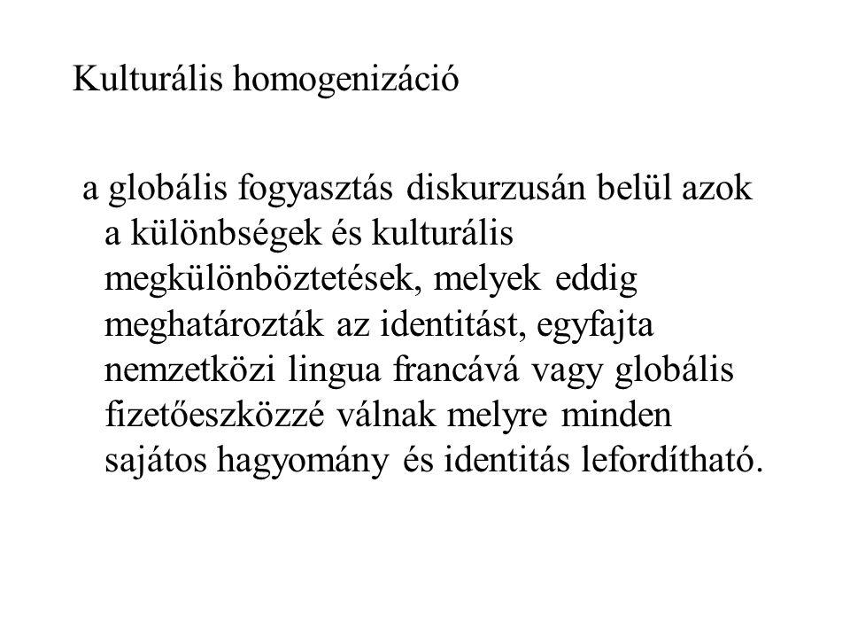 Kulturális homogenizáció
