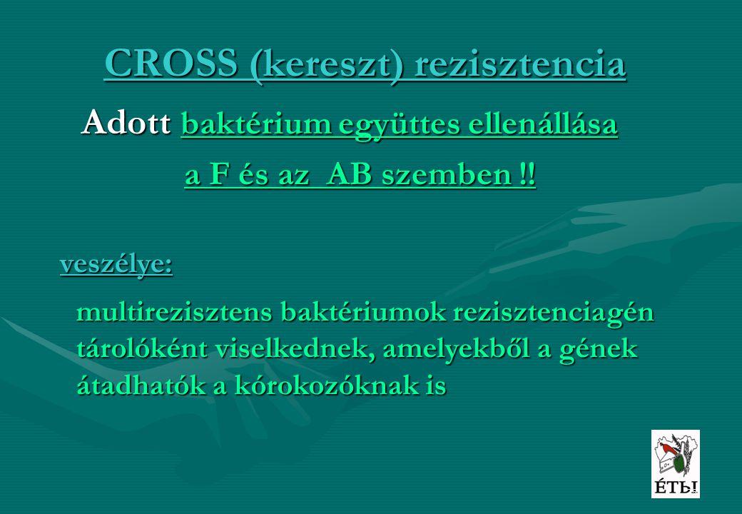 CROSS (kereszt) rezisztencia