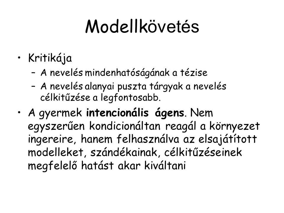 Modellkövetés Kritikája