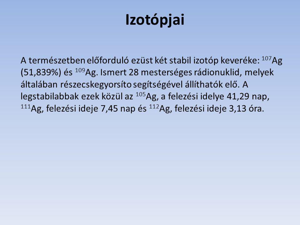 Izotópjai