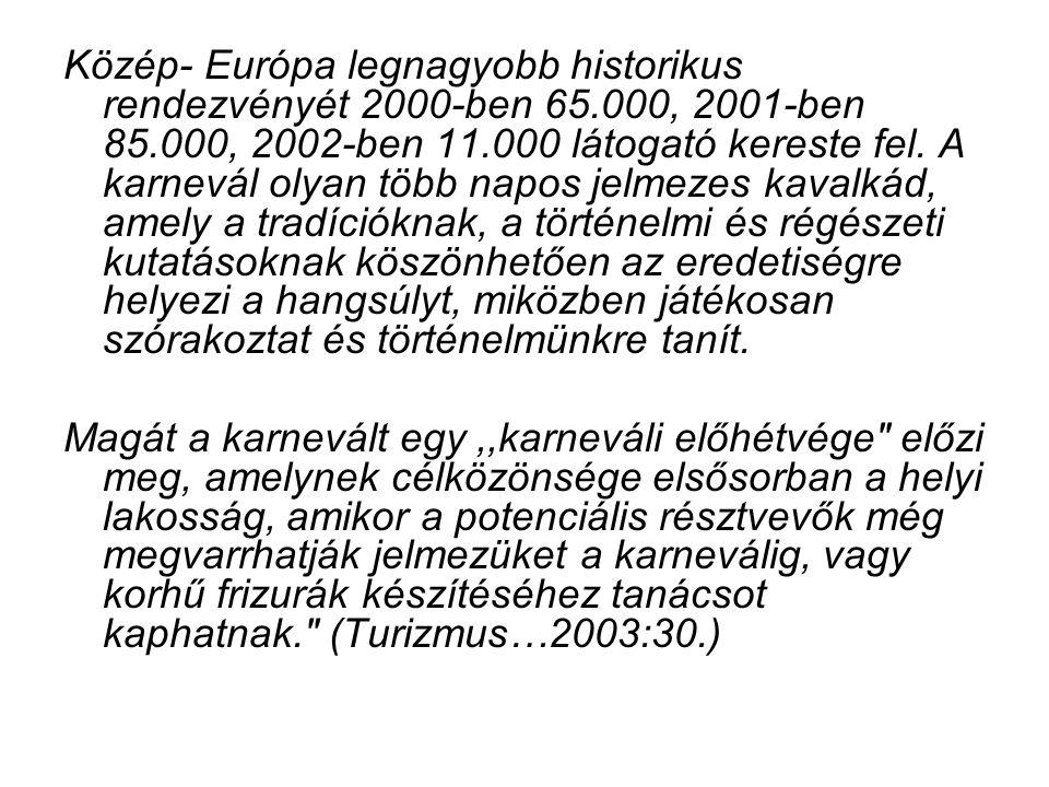Közép- Európa legnagyobb historikus rendezvényét 2000-ben 65