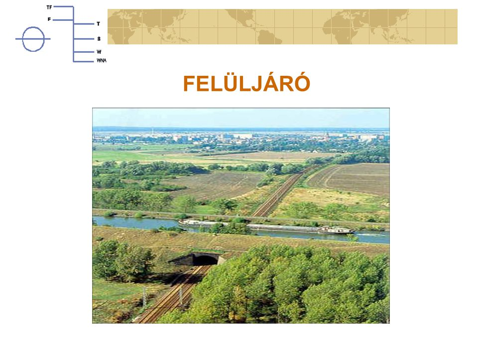 FELÜLJÁRÓ A simple flyover