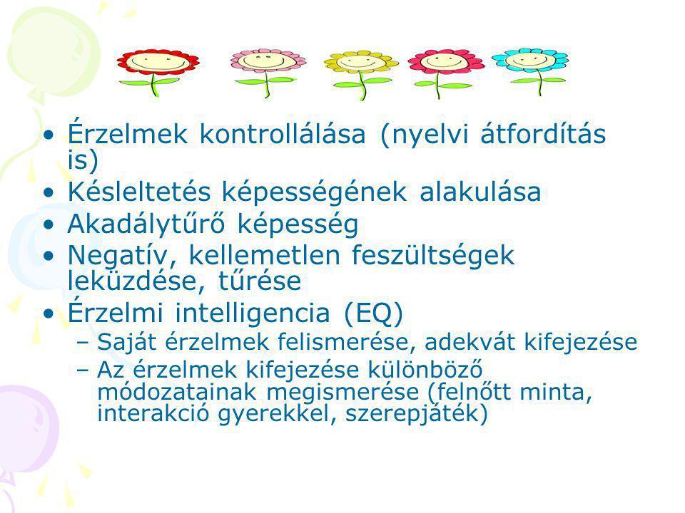 Érzelmek kontrollálása (nyelvi átfordítás is)