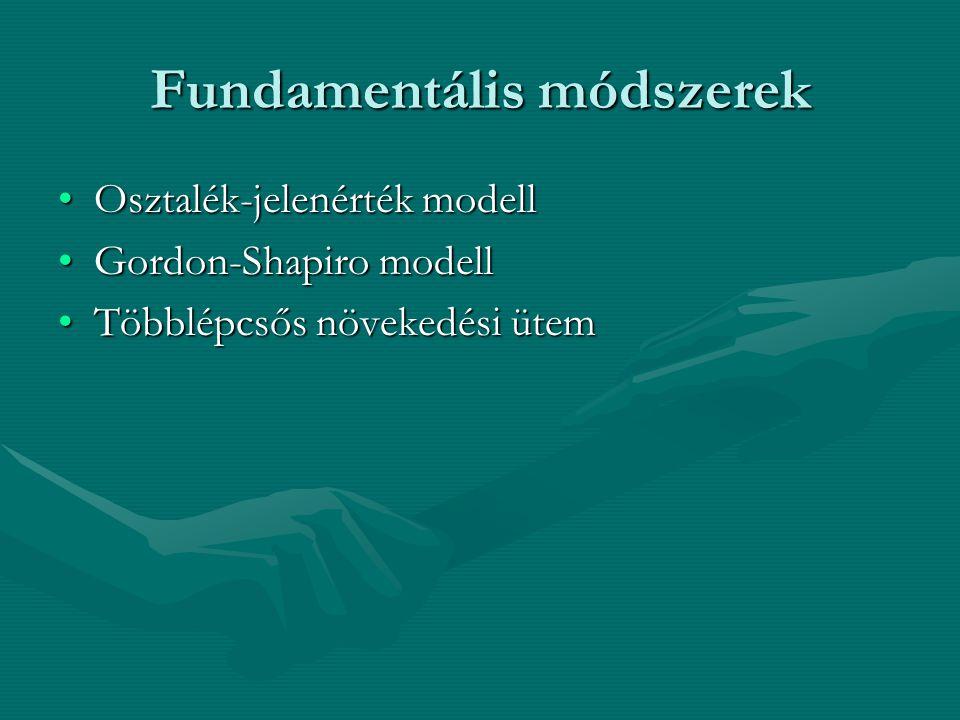 Fundamentális módszerek