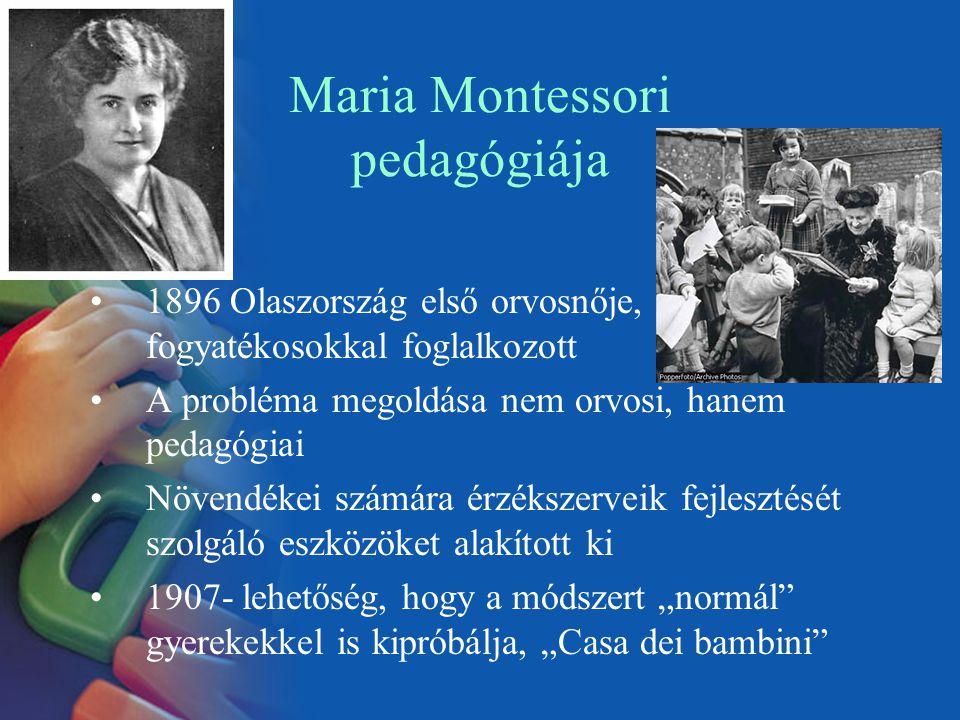 Maria Montessori pedagógiája