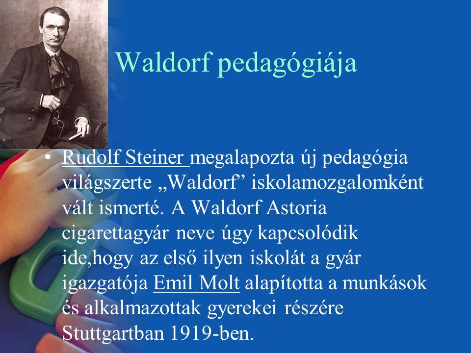 Waldorf pedagógiája