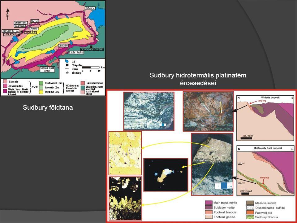 Sudbury hidrotermális platinafém