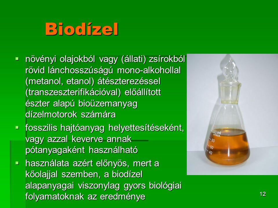 Biodízel