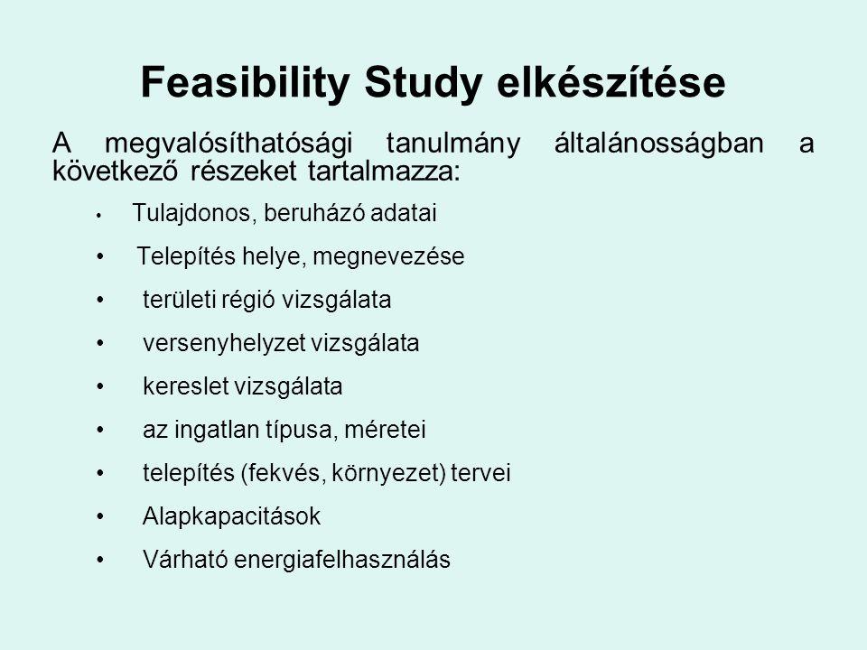 Feasibility Study elkészítése