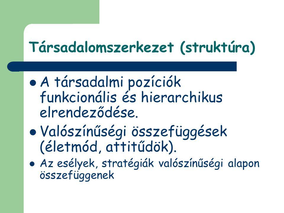 Társadalomszerkezet (struktúra)