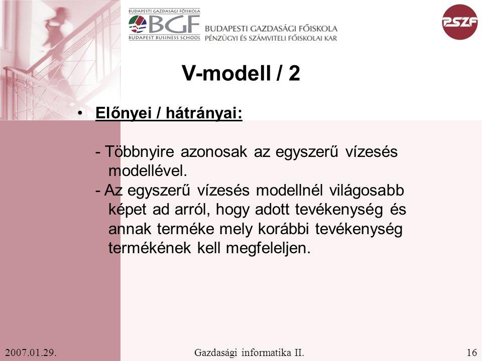 V-modell / 2