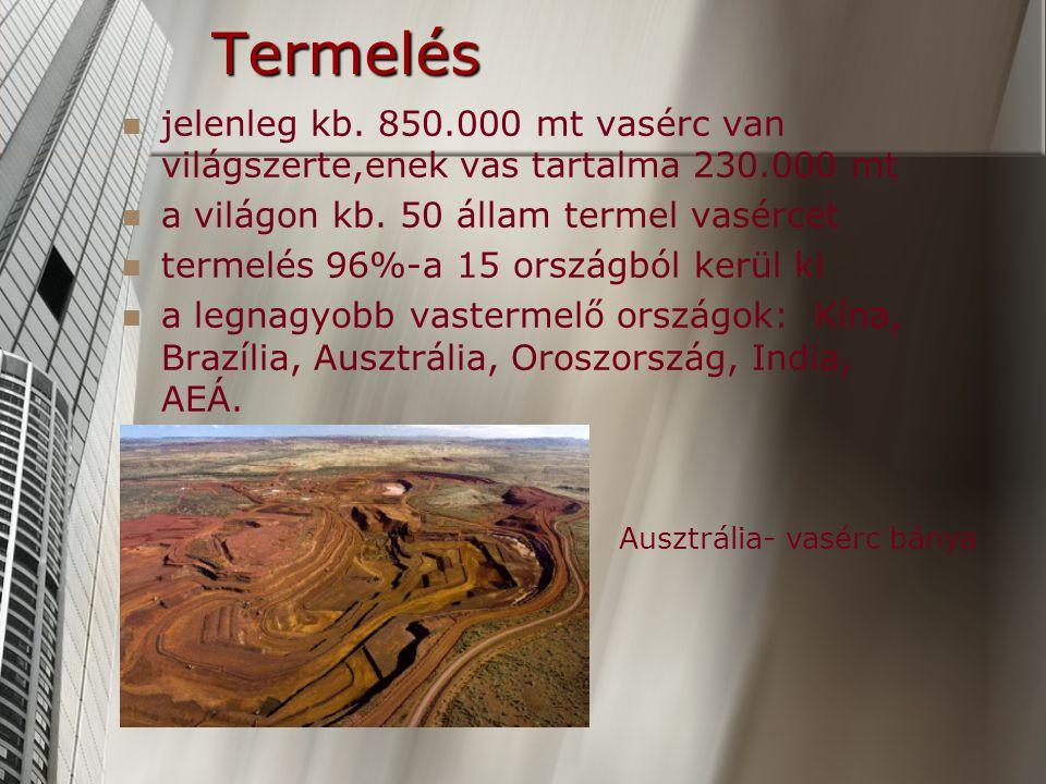 Ausztrália- vasérc bánya