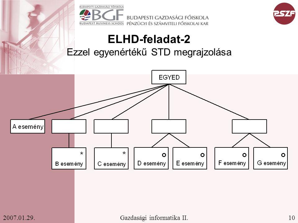 ELHD-feladat-2 Ezzel egyenértékű STD megrajzolása