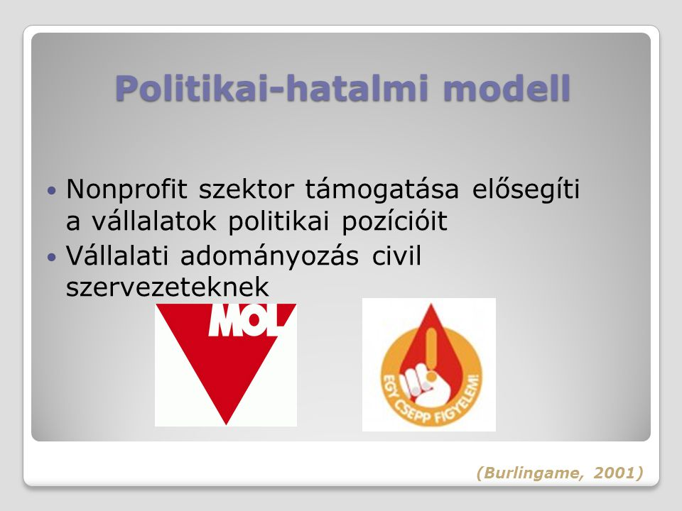 Politikai-hatalmi modell