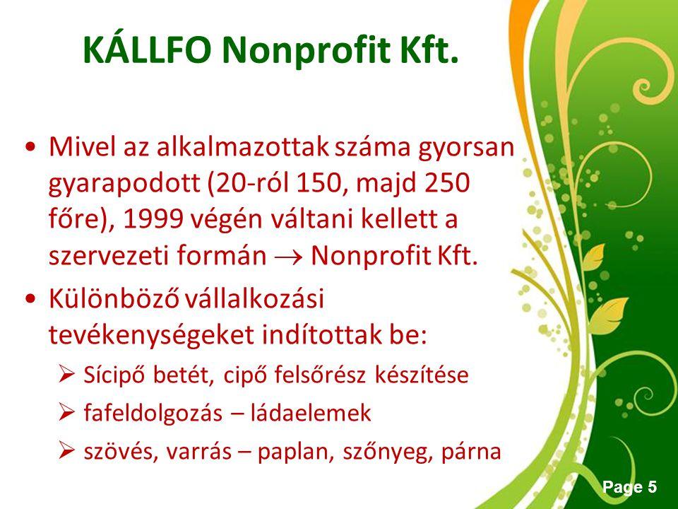 KÁLLFO Nonprofit Kft.