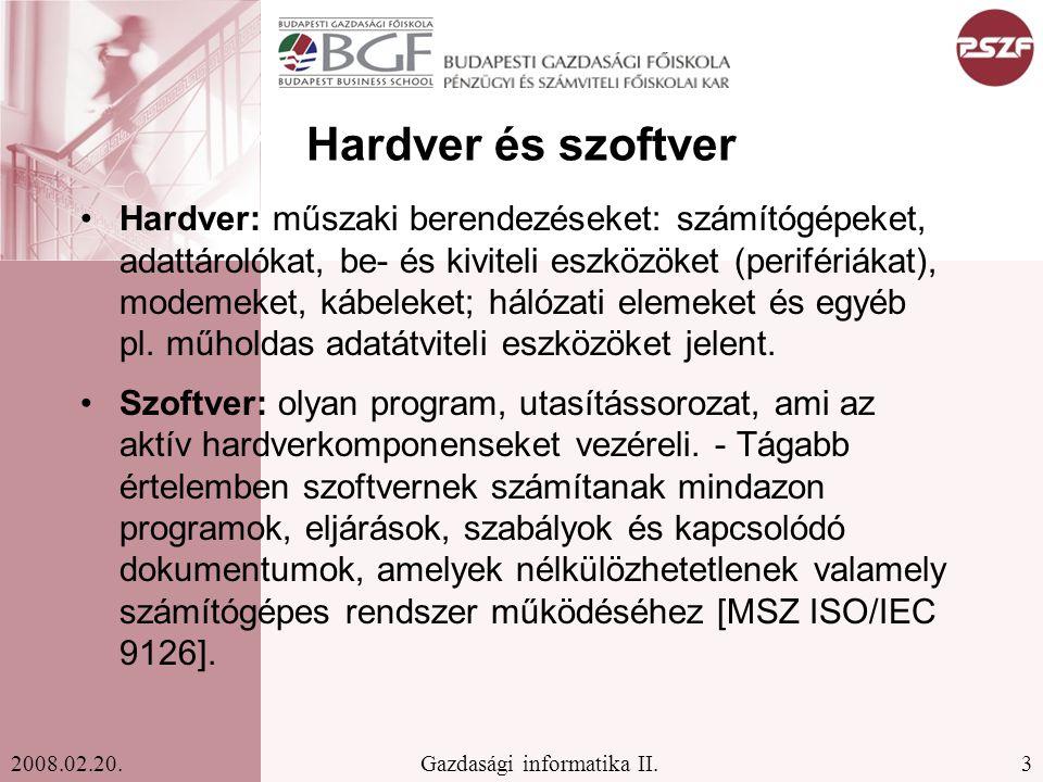 Hardver és szoftver