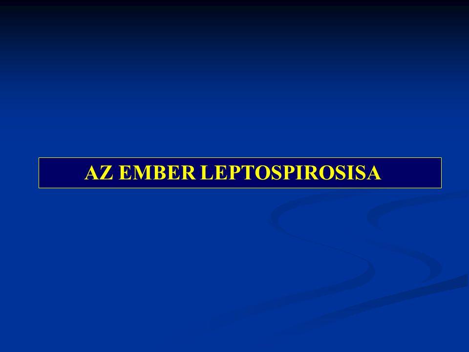 AZ EMBER LEPTOSPIROSISA