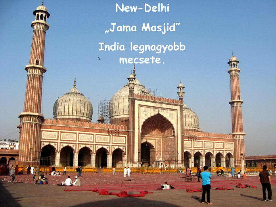 India legnagyobb mecsete.