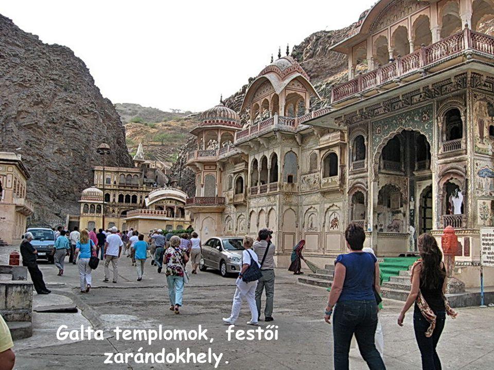 Galta templomok, festői zarándokhely.