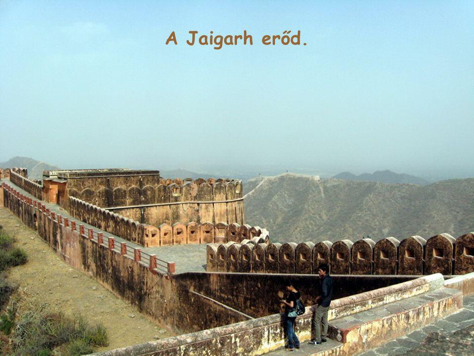 A Jaigarh erőd.