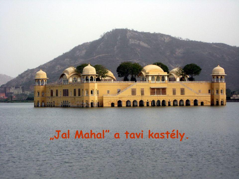 """""""Jal Mahal a tavi kastély."""