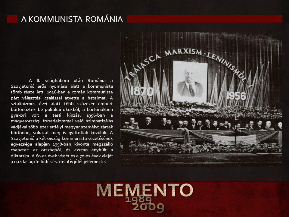 A kommunista Románia