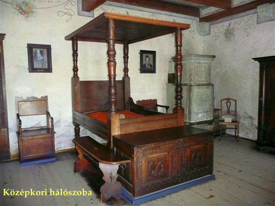 Középkori hálószoba