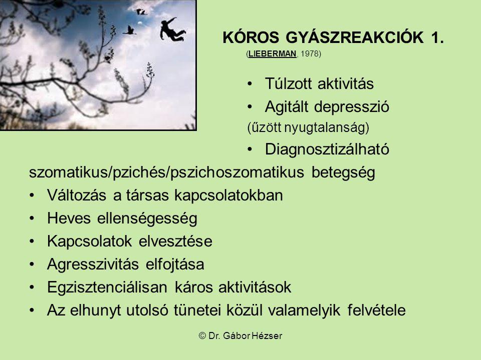 szomatikus/pzichés/pszichoszomatikus betegség