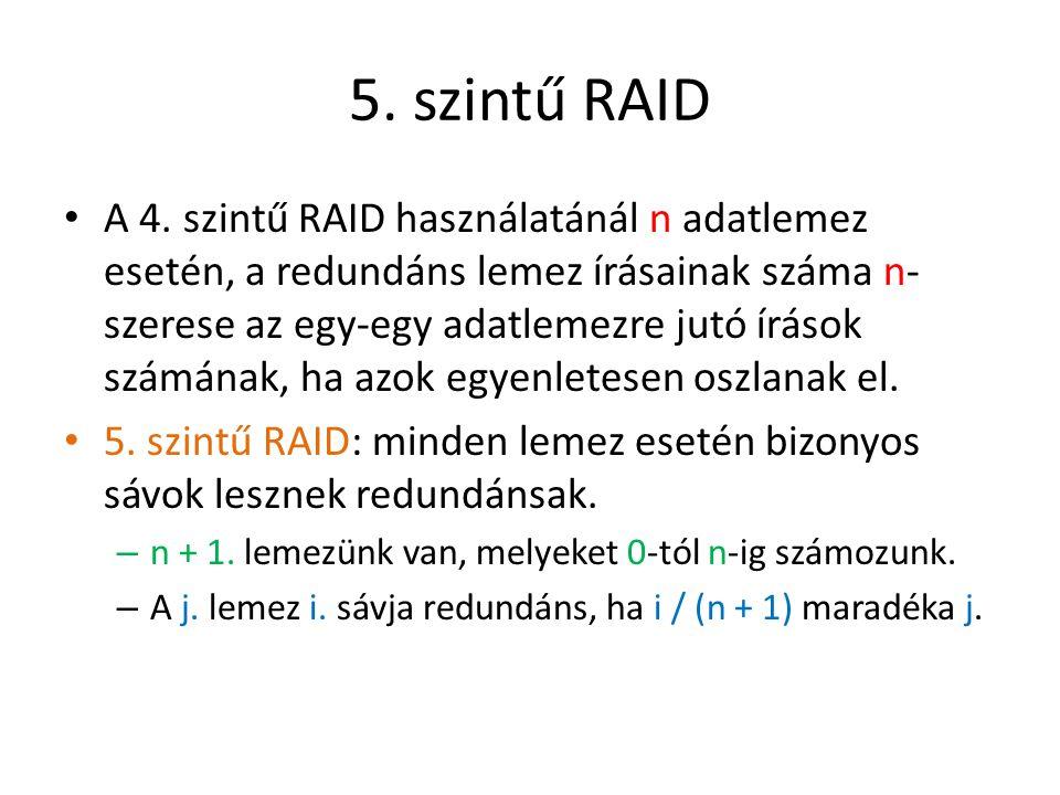 5. szintű RAID