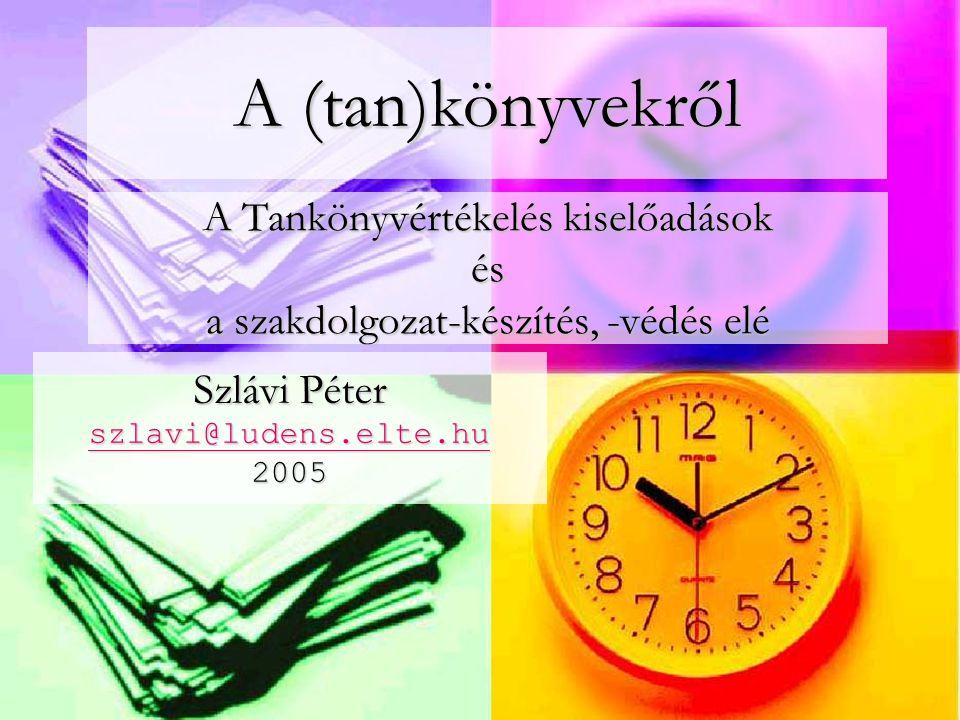 Informatika oktatása Szlávi Péter szlavi@ludens.elte.hu 2005