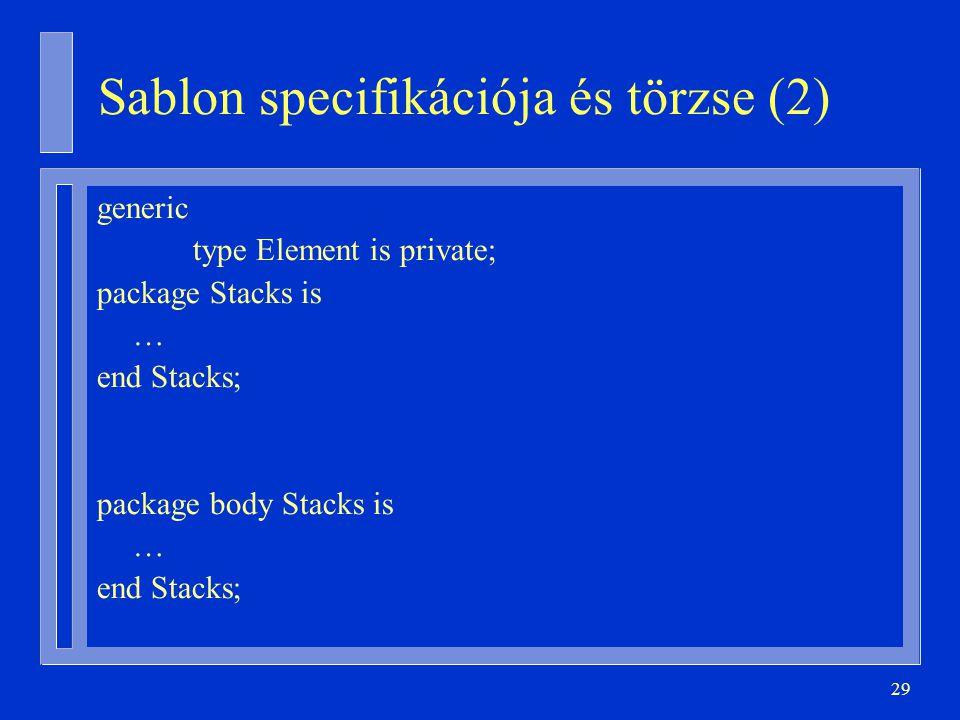 Sablon specifikációja és törzse (2)