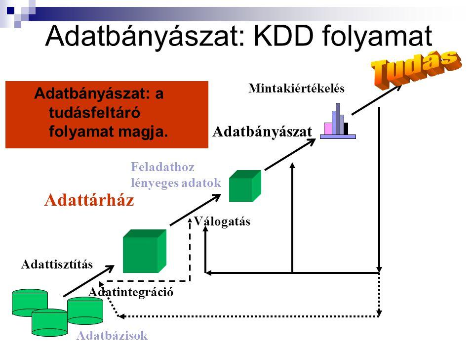 Adatbányászat: KDD folyamat