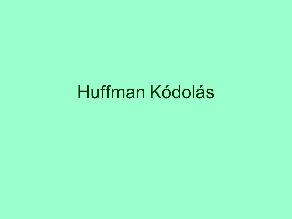 Huffman Kódolás