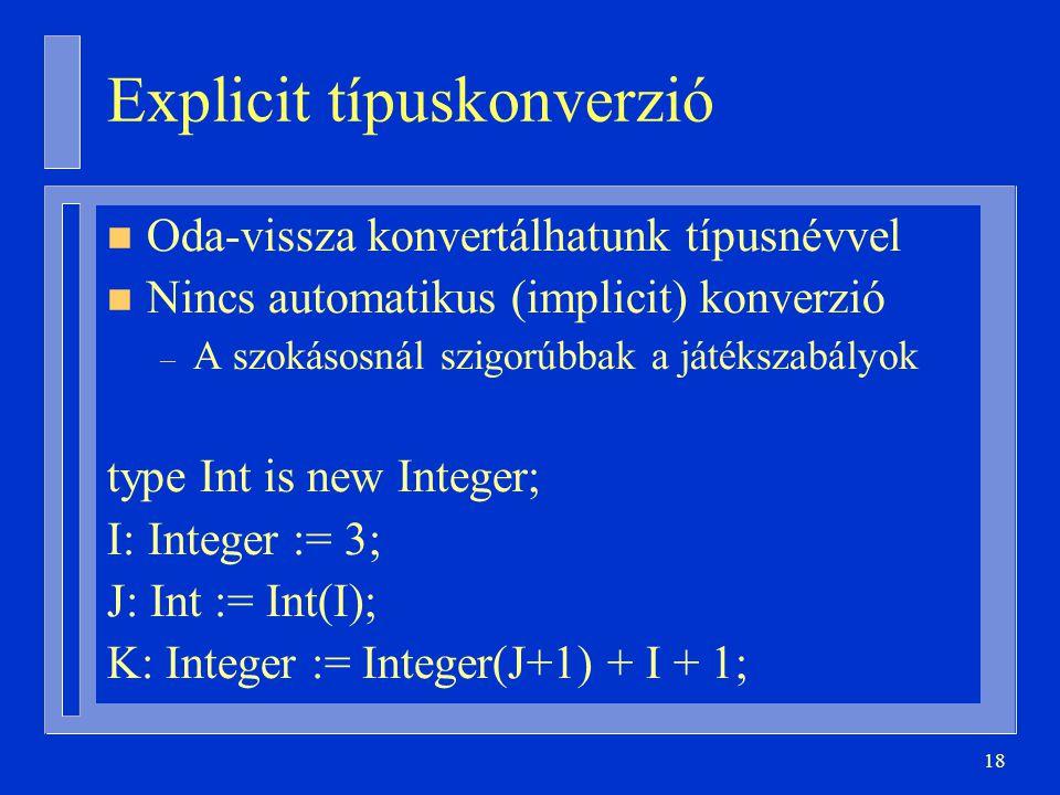Explicit típuskonverzió