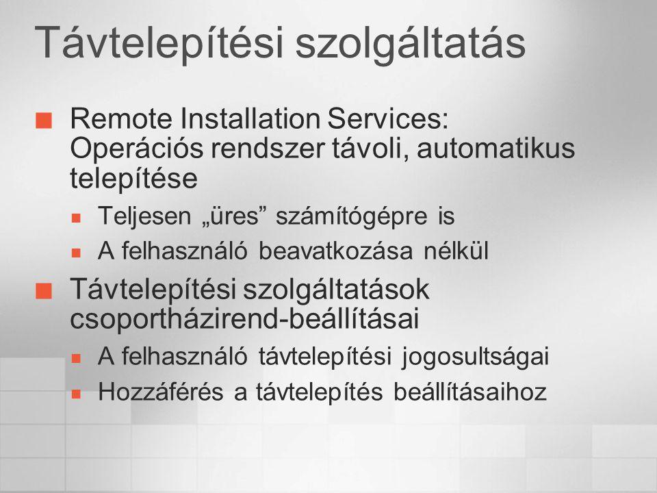 Távtelepítési szolgáltatás