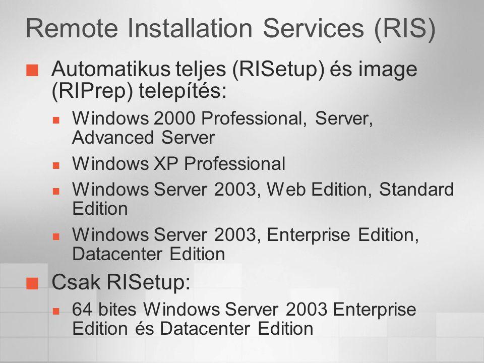 Remote Installation Services (RIS)