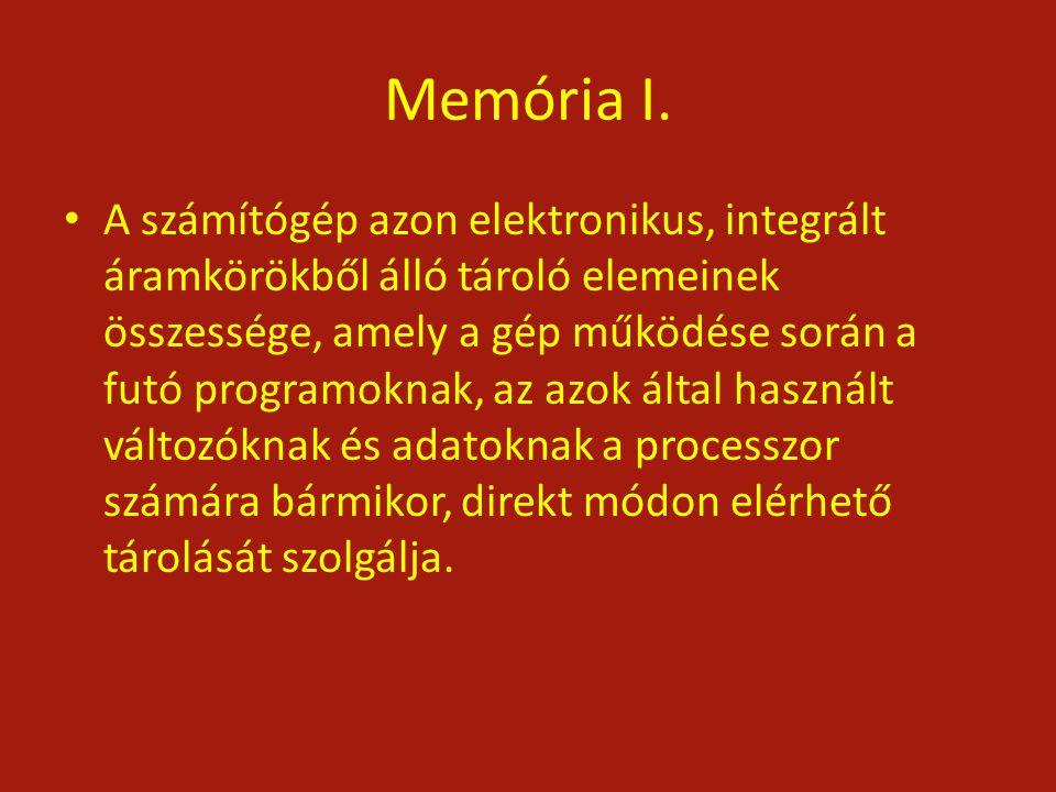 Memória I.