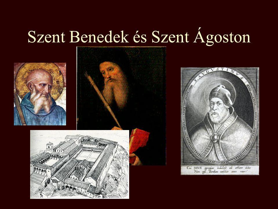 Szent Benedek és Szent Ágoston