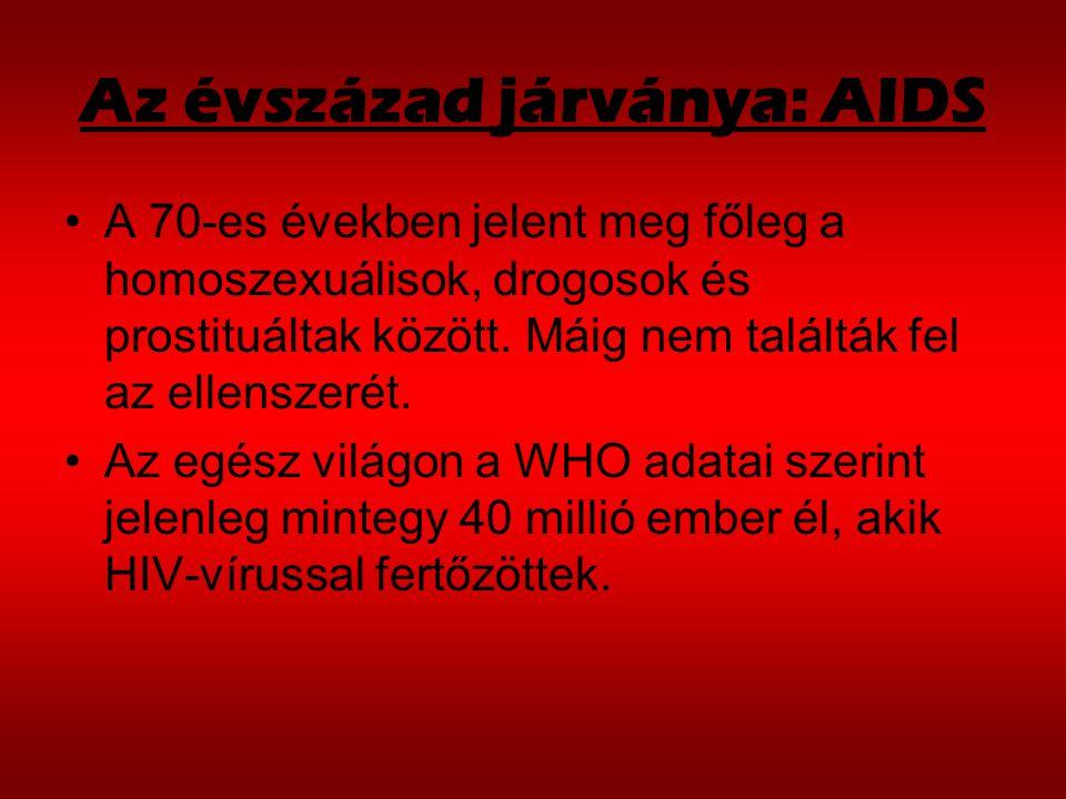 Az évszázad járványa: AIDS