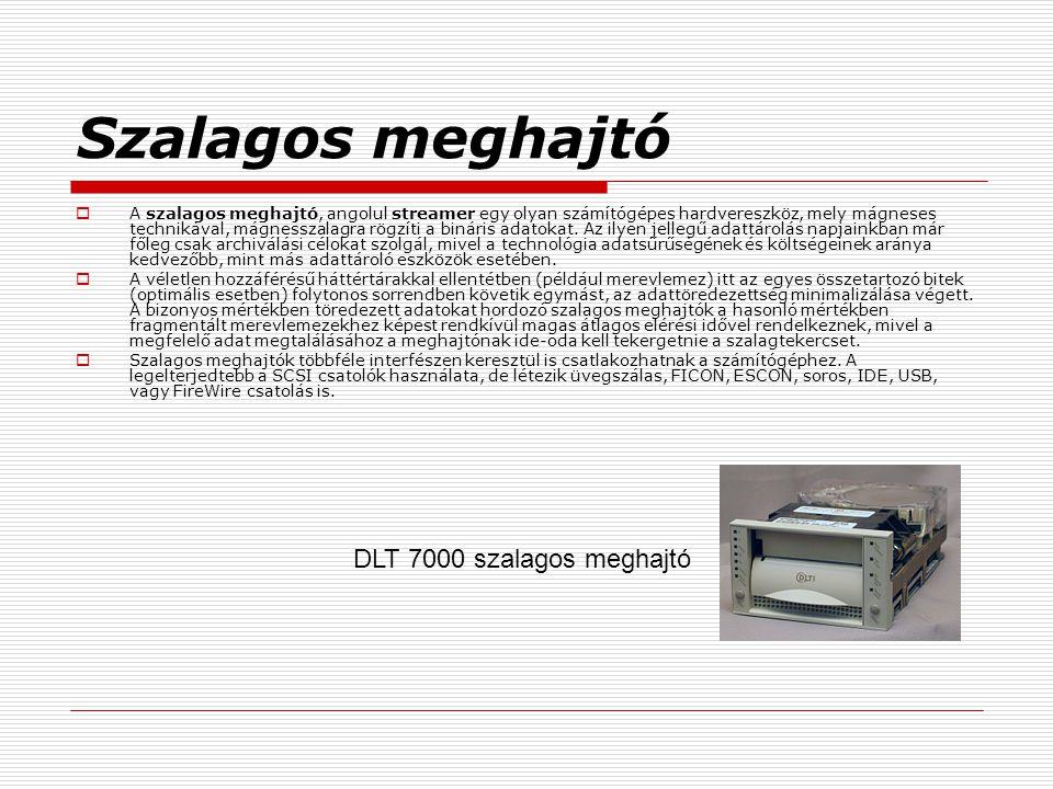 Szalagos meghajtó DLT 7000 szalagos meghajtó