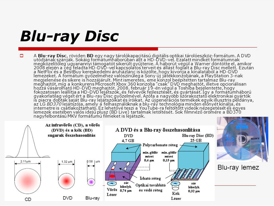 Blu-ray Disc Blu-ray lemez