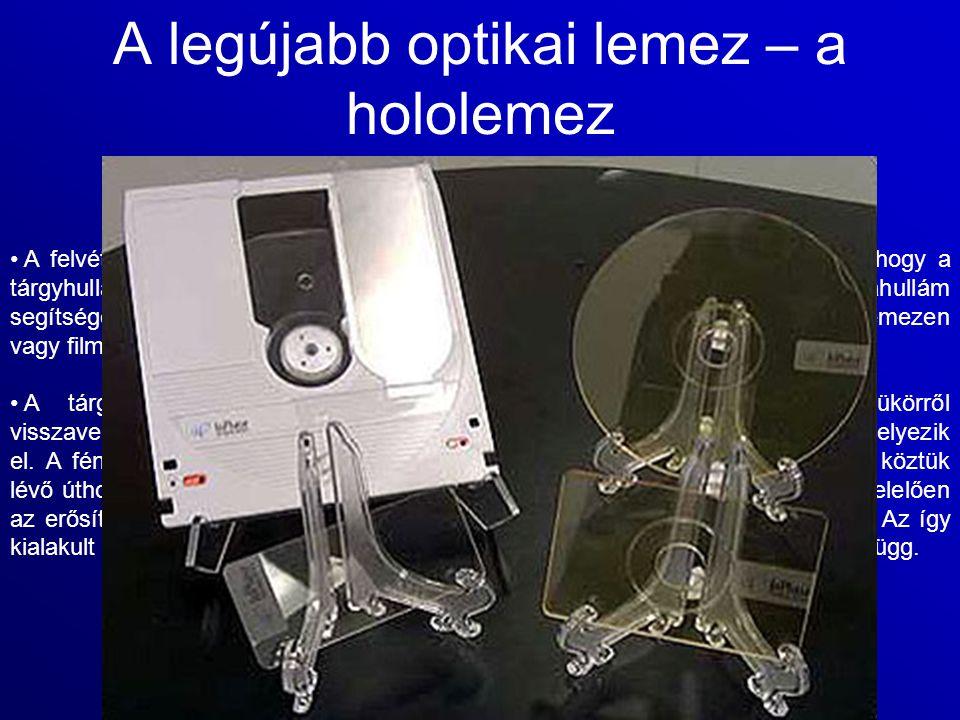 A legújabb optikai lemez – a hololemez