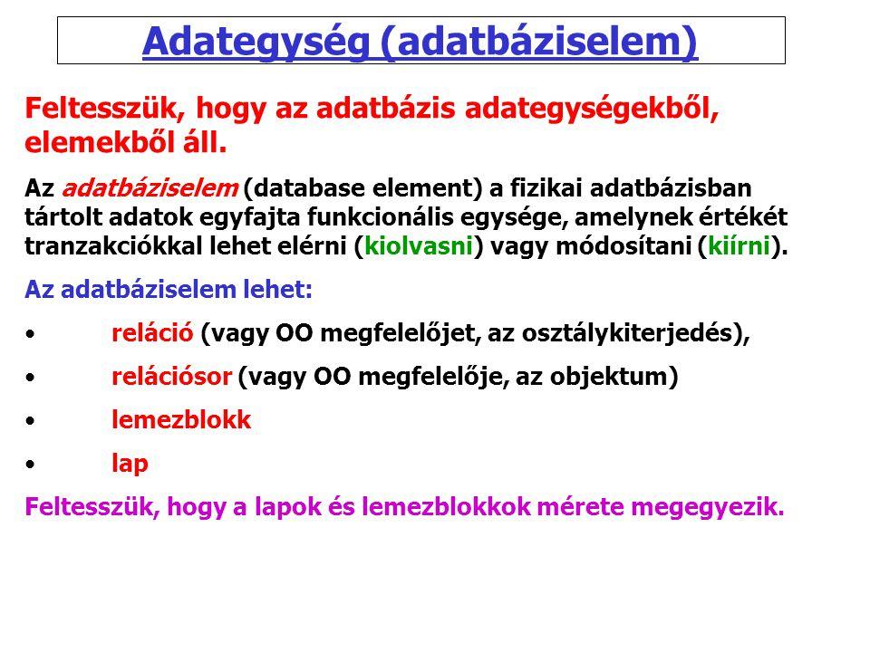 Adategység (adatbáziselem)