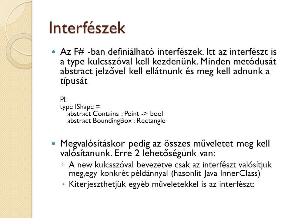 Interfészek