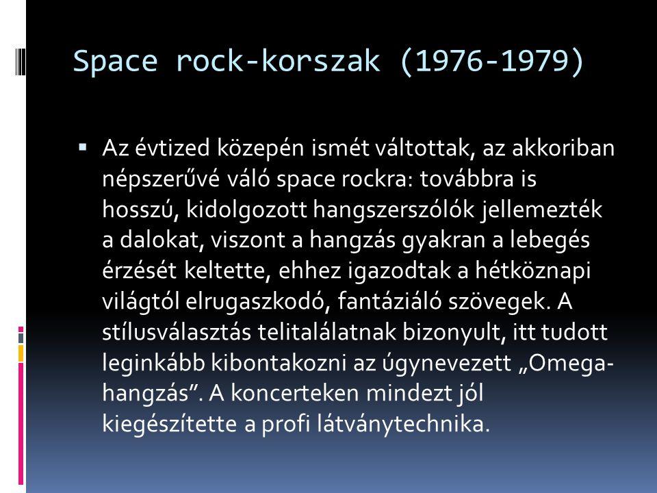 Space rock-korszak (1976-1979)