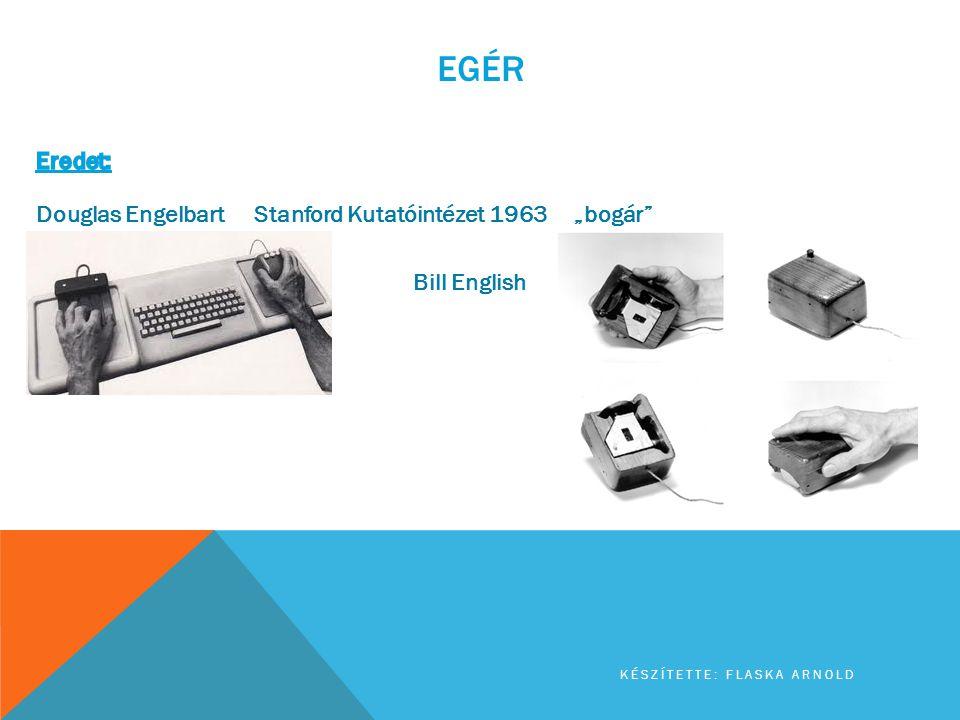 "Egér Eredet: Douglas Engelbart Stanford Kutatóintézet 1963 ""bogár"