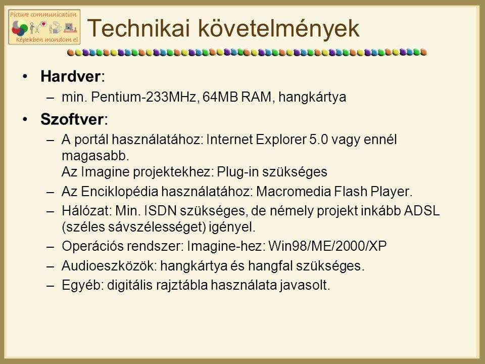 Technikai követelmények